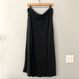 GAP Black Maxi Skirt Size XL